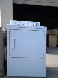 Dryer, electric white