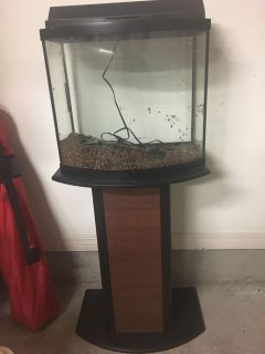 10 gallon fish taken with stand