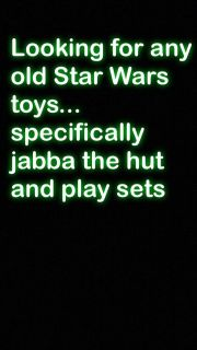 ISO Star Wars toys