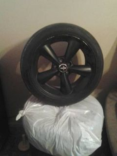 Set of 18 rim and tires for mustang