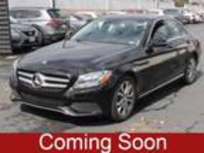 Used 2017 Mercedes-Benz C-Class Black, 32.4K miles