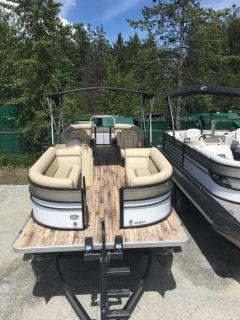 2018 Crest Marine CREST II 250 SLC Pontoons Boats Ponderay, ID