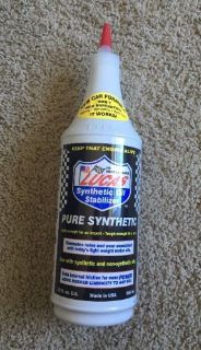 Sell Lucas 10130 Synthetic Oil Stabilizer. Quart Free Shipping motorcycle in Fishers, Indiana, United States, for US $19.99