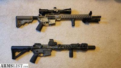 """For Trade: PSA 18"""" SPR/DMR AR15 Rifle"""