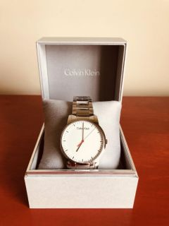 Calvin Klein City Analogue Stainless Steel Bracelet Watch Brand New in Box