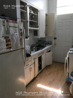 Apartment Rental - 644 Madison Ave