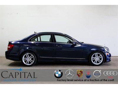 2012 Mercedes-Benz C-Class C300 4MATIC Luxury (Lunar Blue Metallic)