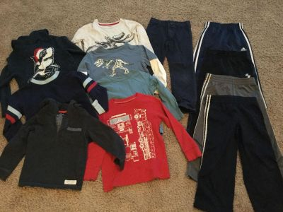 Lot of Boys Clothes, Size 5/5T