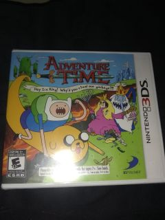 Brand New unopened Adventure time Nintendo ds3 game