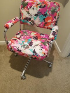 Abstract Accent Chair