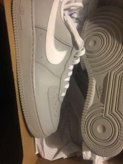 brand new never worn air force 1s