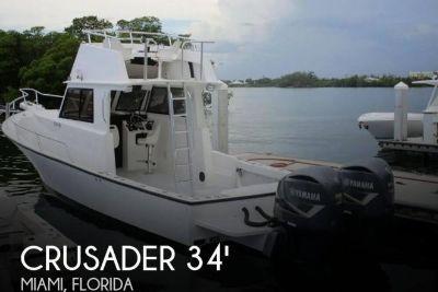 2003 Crusader 34 Express Fisherman