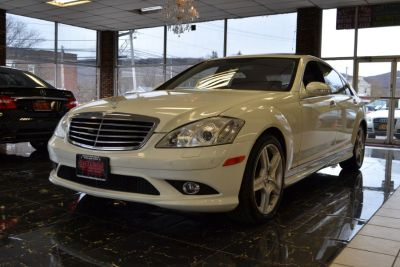 2009 Mercedes-Benz S-Class S550 (Arctic White)