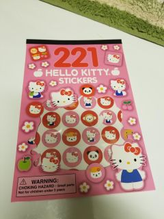 221 Hello Kitty stickers(see add pics)