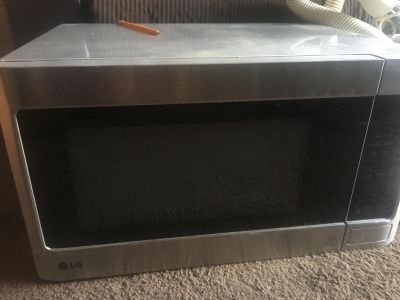 Stainless steel microwave for counter