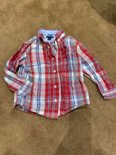 Tommy Hilfiger button down shirt EUC