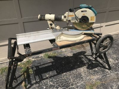 Makita Miter Saw w/Delta work stand