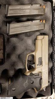 For Sale: Sig m11a1 9mmSig FDE