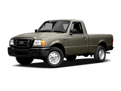 2005 Ford Ranger XLT (Sonic Blue Clearcoat Metallic)