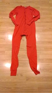 Red LongJohn suit, size 42-44 Tall