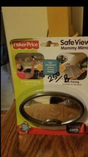 Fisher Price mirror for car
