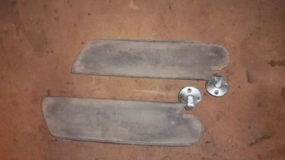 Find 65 Chevelle Malibu SS , El Camino Sun Visors and Mounting Hardware motorcycle in Dallas, Texas, United States, for US $35.00