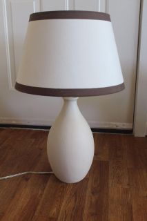 Hand Painted Table Lamps.