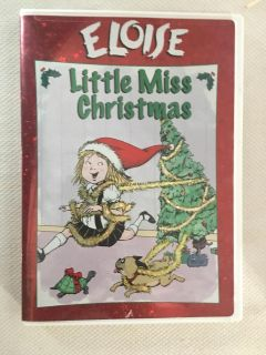 Eloise Little Miss Christmas dvd Great Condition!