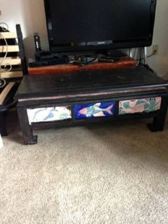 Arts and Craft Coffee table with a very cool look