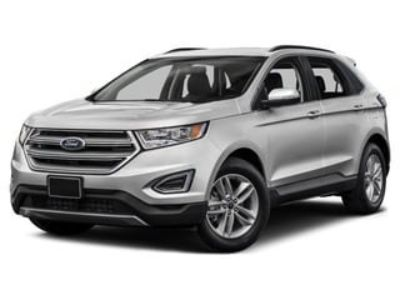 2018 Ford Edge Titanium AWD (Burgundy Velvet Metallic Tinted Clearcoa)