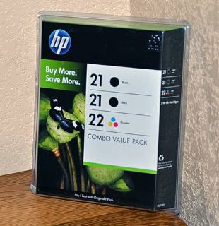 HP Computer Ink 21 and 22