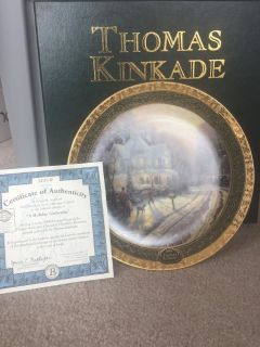 Thomas KinKade Collectible Plate