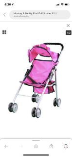 MOMMY AND ME DOLL STROLLER (New)