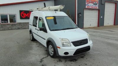 2012 Ford Transit Connect 114.6 XL w/o side or rear door glass