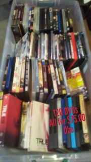 120 or more DVDs