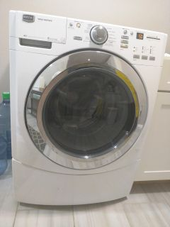 FREE! Maytag 4000 series front load washer stackable.