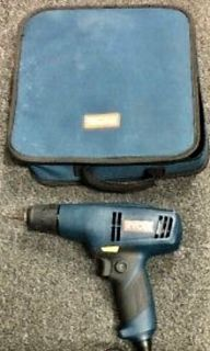 Ryobi electric drill with carrying case