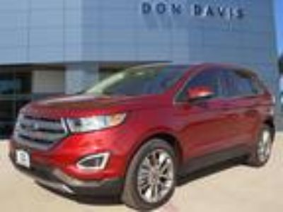 2018 Ford Edge Red, 91 miles