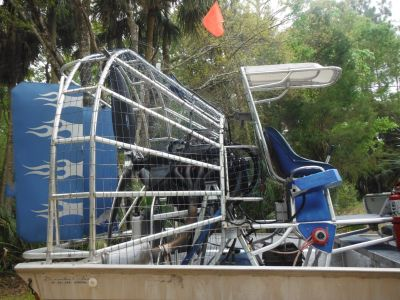 6 PACK TOUR AIRBOAT WITH NEW ENGINE