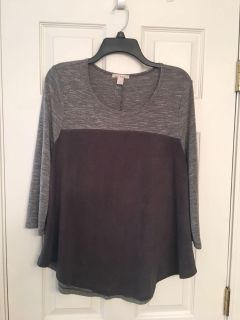 Miami Suede Like Front Top-EUC