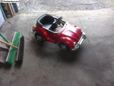Battery / Pedal Car toy vw bug