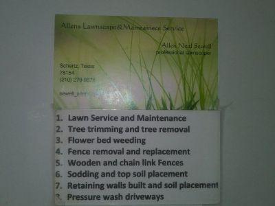 Allen's Lawn Services