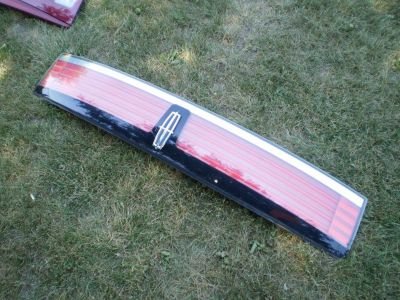 2007-2008 2009 LINCOLN MKX CENTER TAIL LIGHT LED PANEL HATCHBACK TAILGATE  OEM