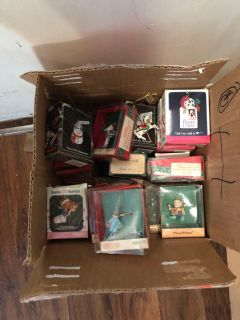Ornaments whole lot for $8