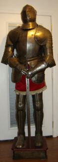 """Suit of Armor """"Carlos the V"""""""
