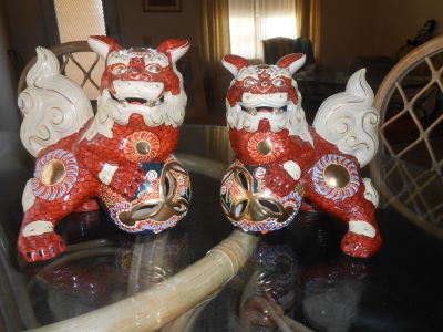Foo Dogs - Made in Japan - Gorgeous Playful Shishi Lions!