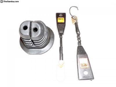 Porsche 911 / 912 Front Seat Belt Recepticals