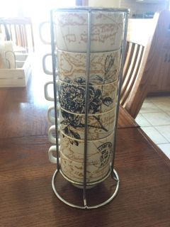The World Market Stacking Coffee Cups