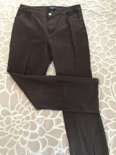Like New! Chaps Brown Pants Size 12