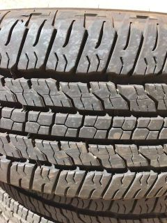 Goodyear fortitude Tires size 26 70 r16, barely used less than 3000 miles